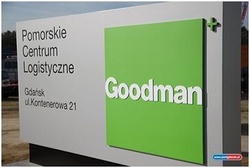 Pomorskie Centrum Logistyczne Goodman w Gdańsku
